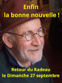 Le Radeau: septembre 2020